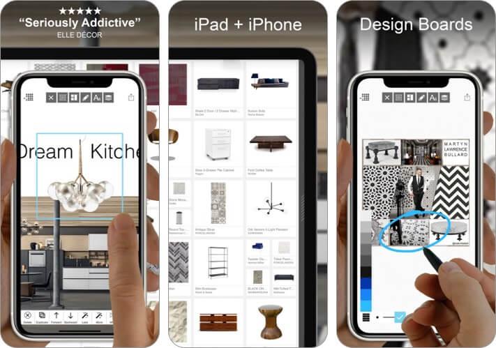 Morpholio Board iPhone and iPad Interior Design App Screenshot