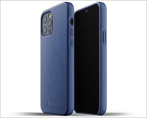 Mujjo Full Leather Case for iPhone 12 and 12 Pro