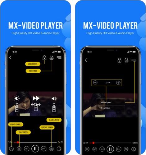 mx video player iphone and ipad app screenshot