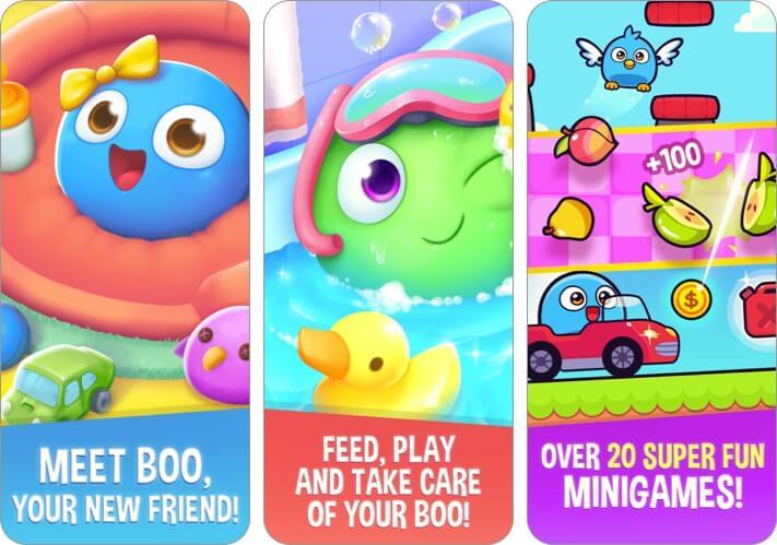 my boo virtual pet & mini-game iphone and ipad screenshot