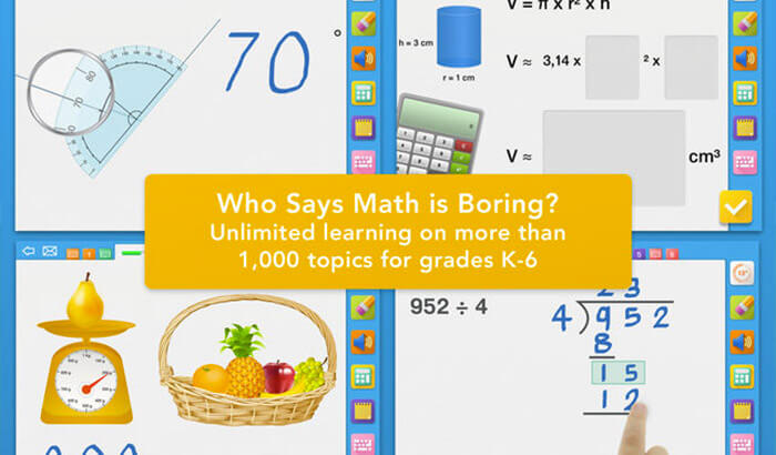 myBlee Math Educational iPhone Game Screenshot