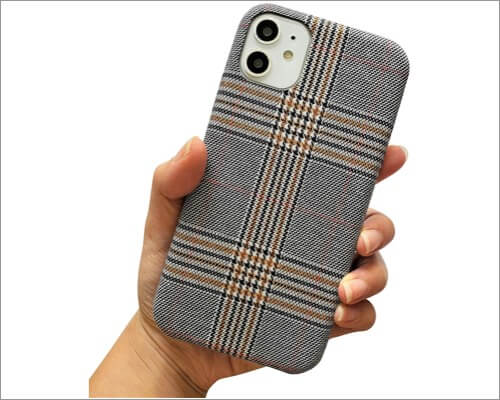 nama soft cloth fabric case for iphone 11, 11 pro and 11 pro max