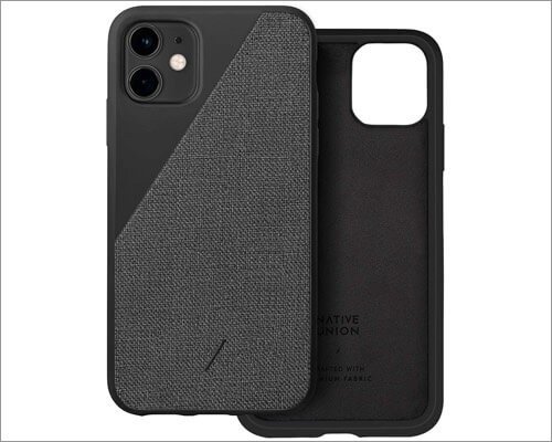 native union woven fabric case for iphone 11, 11 pro and 11 pro max