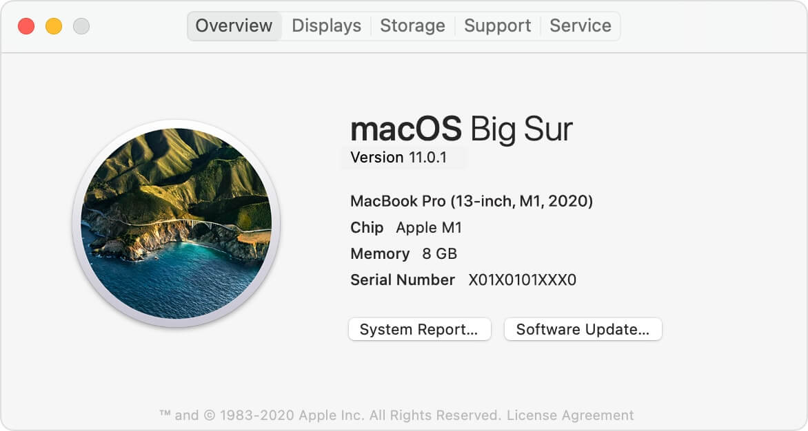 New Mac with Apple Silicon M1 Chip
