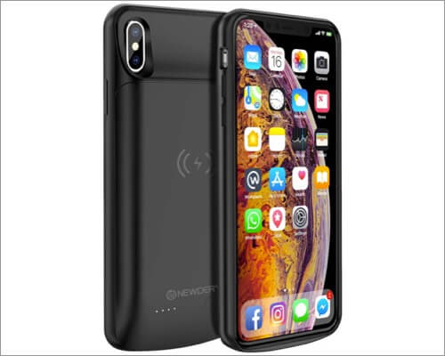 newdery battery case for iphone xs max