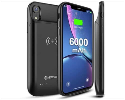 newdery iphone xr battery case