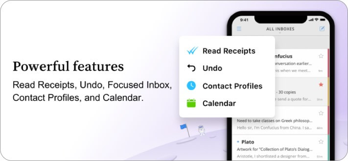 newton mail iphone and ipad email app screenshot