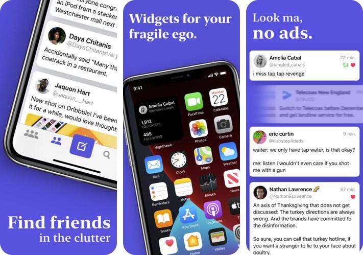Nighthawk for Twitter iPhone and iPad App Screenshot