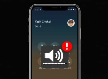 no sound during a call on iphone
