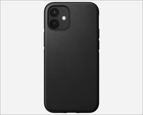 Nomad Rugged Leather Case for iPhone 12 Mini