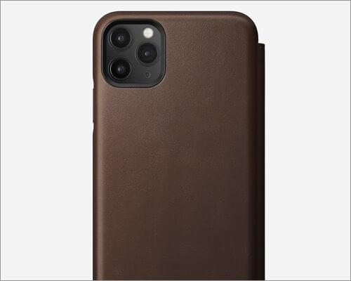 nomad rugged tri folio case for iphone 11 pro
