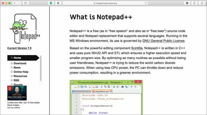 Notepad Plus Text Editor for Mac