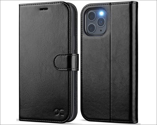 OCASE Magnetic Leather Case with Card Holer for iPhone 12 Pro Max