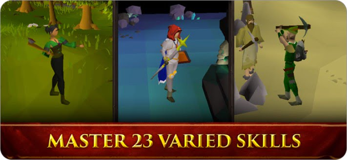 old school runescape multiplayer role playing iphone and ipad game screenshot