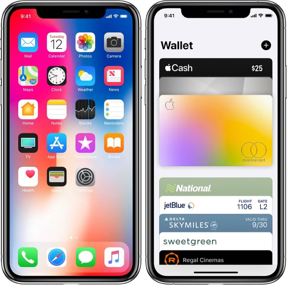 open wallet app and tap on cash on iphone