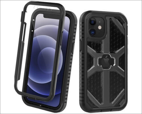 ORDTBY Heavy-Duty Rugged Cover for iPhone 12 Mini