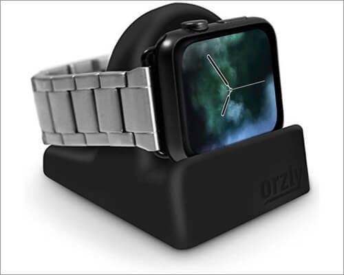 orzly charging & display stand for apple watch