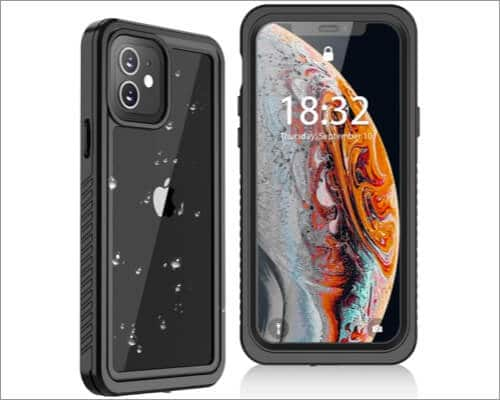 Oterkin Waterproof Case for iPhone 12 Mini