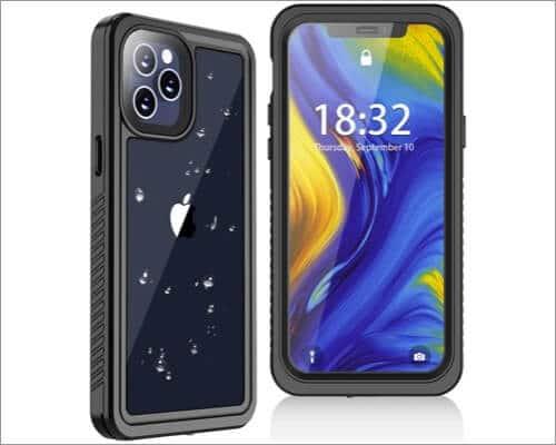 Oterkin Waterproof Case for iPhone 12 Pro Max