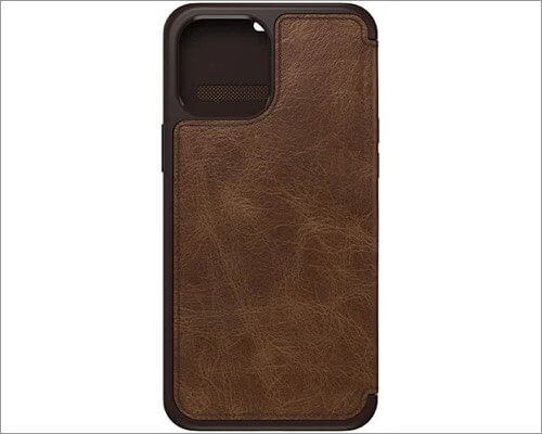 OtterBox Strada Series Leather Case for iPhone 12 Pro Max