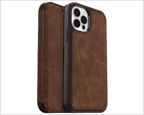 OtterBox Strada Series Wallet Case for iPhone 12 and 12 Pro