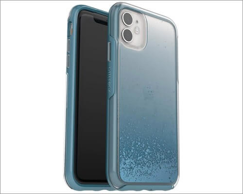otterbox symmetry series slim clear case for iphone 11