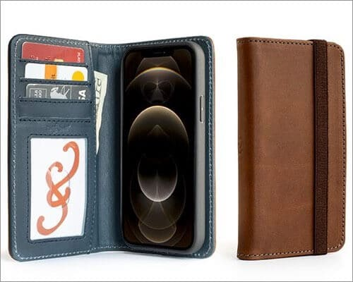 Pad and Quill Bella Fino Wallet Case for iPhone 12 and 12 Pro