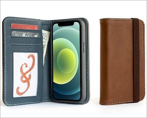 Pad and Quill Bella Fino Wallet Case for iPhone 12 Mini