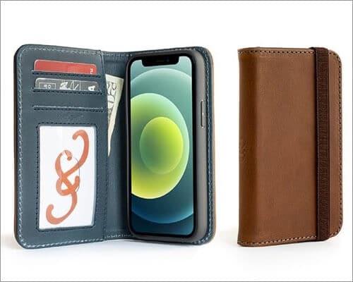 Pad & Quill Bella Fino Wallet Case for iPhone 12 Mini