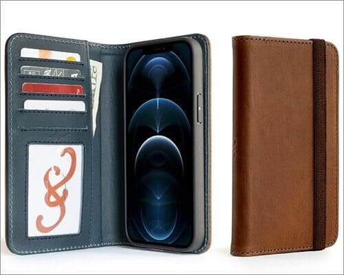 Pad & Quill Bella Fino Wallet Case for iPhone 12 Pro Max