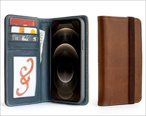 Pad & Quill Wallet Case for iPhone 12 and 12 Pro