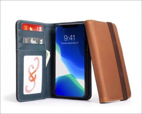 pad & quill bella fino edition iphone 11 pro leather case