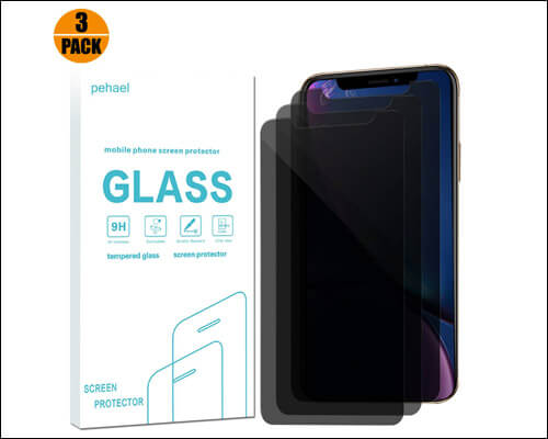 pehael Privacy Screen Protector for iPhone Xs Max