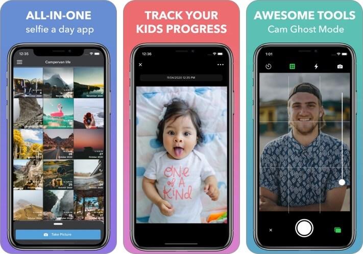 Picr iPhone and iPad Selfie App Screenshot
