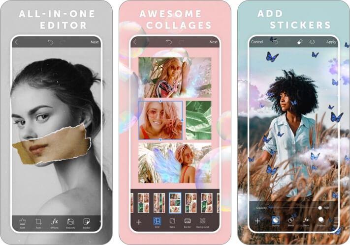 picsart photo and video editor iphone and ipad app screenshot