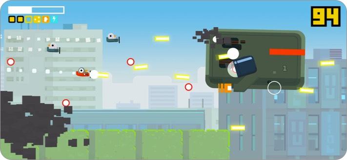 pigeon wings strike iphone and ipad game screenshot