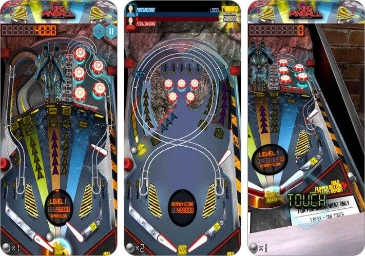pinball king iphone and ipad game screenshot