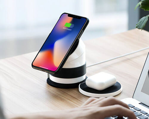 pitaka Wireless Charging Dock for iPhone, Apple Watch, AirPods