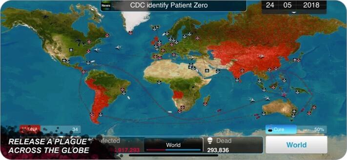 plague iphone game screenshot
