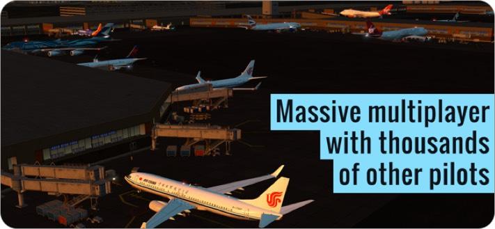 plane flight simulator iphone game screenshot
