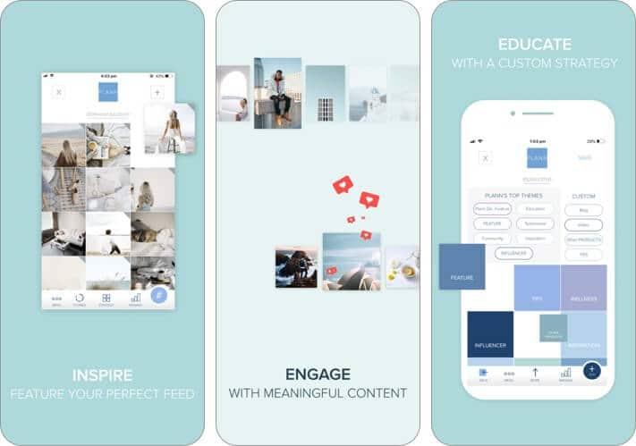 plann+instagram analytics iphone app screenshot