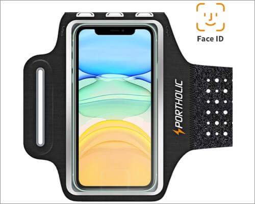 portholic running armband for iphone 11, 11 pro and 11 pro max