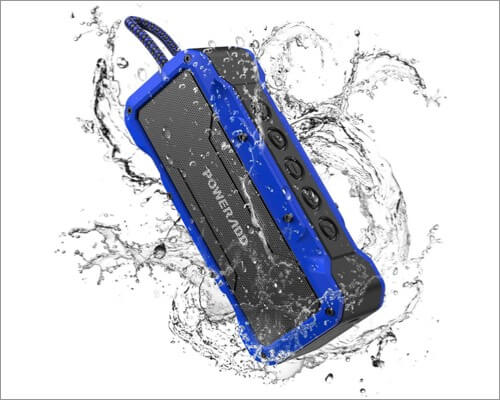 poweradd musicfly ii bluetooth speaker for iphone 11, 11 pro, and 11 pro max