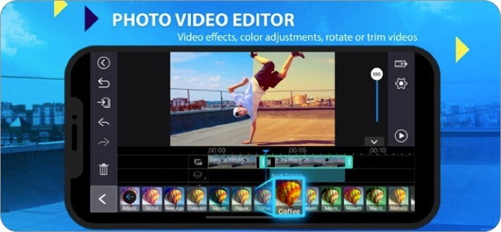 powerdirector iphone and ipad video editing app screenshot