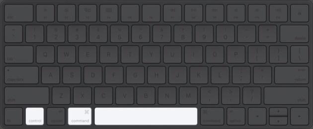 Нажмите Command Control и пробел на клавиатуре Mac, чтобы получить доступ к эмодзи и символам.