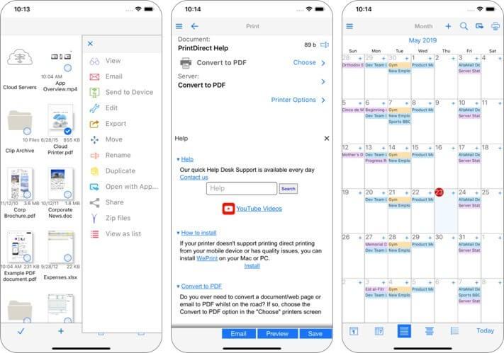 printdirect iphone and ipad printing app screenshot