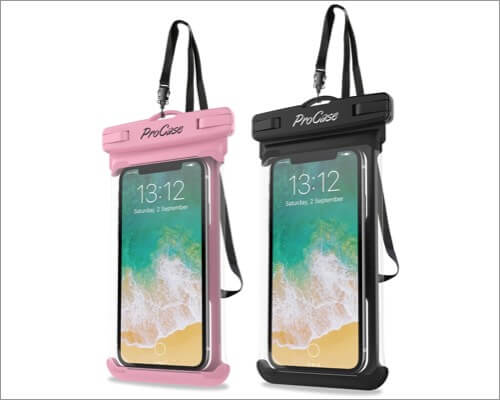 procase universal waterproof case for iphone 11 pro max