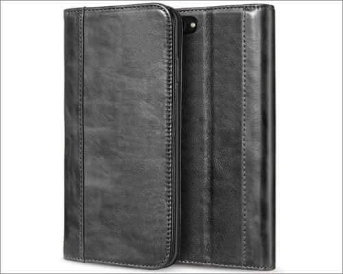 procase vintage leather case for iphone se 2020