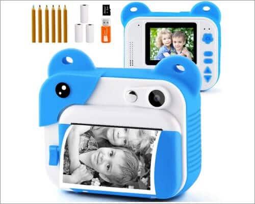 PROGRACE Instant Camera for Kids