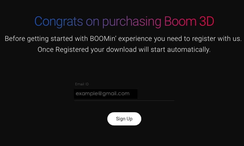 Purchase Boom 3D App on Mac